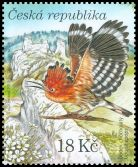 Cl: Eurasian Hoopoe (Upupa epops) <<Dudek chocholaty>> (Repeat for this country)  SG 618b (2010)  [6/55]