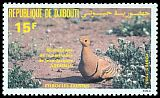 Cl: Chestnut-bellied Sandgrouse (Pterocles exustus) SG 942 (1985) 190