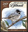 Cl: Rueppell's Warbler (Sylvia rueppelli)(I do not have this stamp)  new (2016)