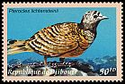 Cl: Lichtenstein's Sandgrouse (Pterocles lichtensteinii) SG 1253 (2000) 55