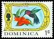 Cl: Purple-throated Carib (Eulampis jugularis) SG 273 (1969) 30