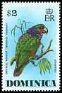 Cl: Imperial Parrot (Amazona imperialis) <<Sisserou>>  SG 529 (1976) 900