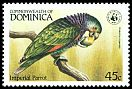 Cl: Imperial Parrot (Amazona imperialis)(Endemic or near-endemic)  SG 871 (1984) 375