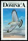 Cl: Broad-winged Hawk (Buteo platypterus)(Repeat for this country)  SG 1037 (1987) 20