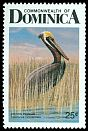 Cl: Brown Pelican (Pelecanus occidentalis)(Repeat for this country)  SG 1043 (1987) 40