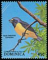 Cl: Antillean Euphonia (Euphonia musica)(Repeat for this country)  SG 1130 (1988) 50