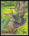 Cl: Green-throated Carib (Eulampis holosericeus) SG 1146 (1988) 50
