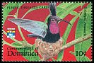 Cl: Purple-throated Carib (Eulampis jugularis)(Repeat for this country)  SG 1554 (1992) 20