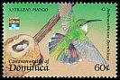 Cl: Antillean Mango (Anthracothorax dominicus)(Out of range and no other stamp)  SG 1557 (1992) 60