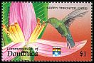 Cl: Green-throated Carib (Eulampis holosericeus)(Repeat for this country)  SG 1558 (1992) 95