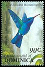 Cl: Blue-headed Hummingbird (Cyanophaia bicolor)(Endemic or near-endemic)  SG 1674 (1993) 70