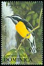 Cl: Bananaquit (Coereba flaveola)(Repeat for this country)  SG 1675 (1993) 70