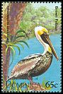 Cl: Brown Pelican (Pelecanus occidentalis)(Repeat for this country)  SG 1947 (1995) 30