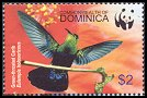Cl: Green-throated Carib (Eulampis holosericeus)(Repeat for this country)  SG 3412 (2005)  [3/41]