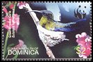 Cl: Green-throated Carib (Eulampis holosericeus)(Repeat for this country)  SG 3414 (2005)  [3/41]