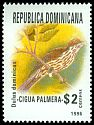 Cl: Palmchat (Dulus dominicus) <<Cigua palmera>> (Endemic or near-endemic)  SG 1984 (1996) 120