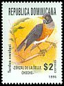 Dominican Republic <<Zorzal de la Selle Chocho>> SG 1988 (1996)