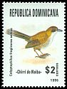 Cl: Eastern Chat-Tanager (Calyptophilus frugivorus neibae) <<Chirri de Neiba>> (Endemic or near-endemic)  SG 1989 (1996) 120