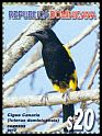 Cl: Greater Antillean Oriole (Icterus dominicensis) <<Cigua Canaria>> (Endemic or near-endemic)  SG 2460 (2012) 240 [5/11]