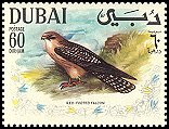 Cl: Red-footed Falcon (Falco vespertinus) SG 312 (1968) 250 [4/6]