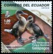 Cl: Flightless Cormorant (Phalacrocorax harrisi) <<Cormoran no volador>> (Endemic or near-endemic)  SG 3147i (2009) 500 [6/33]