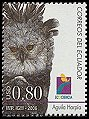 Cl: Harpy Eagle (Harpia harpyja) <<Aguila Harpia>> (Repeat for this country)  new (2006)  [4/1]