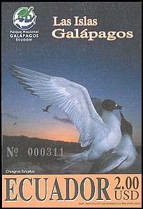 Cl: Swallow-tailed Gull (Creagrus furcatus)(Endemic or near-endemic)  SG 2759 (2005) 1150 [5/3]