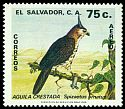 Cl: Ornate Hawk-Eagle (Spizaetus ornatus) <<Aguila crestada>>  SG 1666 (1981) 60