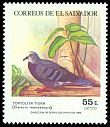 Cl: Maroon-chested Ground-Dove (Claravis mondetoura) <<Tortolita tigra>>  SG 1861 (1984) 85