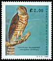 Cl: Sharp-shinned Hawk (Accipiter striatus) <<Gavilan pajarero>>  SG 2095 (1989) 120