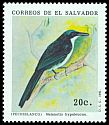 Cl: Blue-and-white Mockingbird (Melanotis hypoleucus) <<Pechiblanco>>  SG 2161 (1991) 30