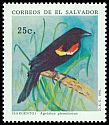 Cl: Red-winged Blackbird (Agelaius phoeniceus) <<Sargento>>  SG 2162 (1991) 35