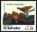 Cl: Yellow Warbler (Dendroica petechia) <<reinita amarilla>>  SG 2347 (1996) 120
