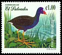 Cl: Purple Gallinule (Porphyrio martinica) SG 2447 (1999) 50