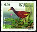 Cl: Northern Jacana (Jacana spinosa) SG 2452 (1999) 50