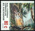 Cl: Great Horned Owl (Bubo virginianus) SG 2318 (1995) 60
