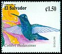 Cl: Green Violet-ear (Colibri thalassinus) SG 2419 (1998) 80
