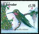 Cl: Amethyst-throated Hummingbird (Lampornis amethystinus) SG 2421 (1998) 80