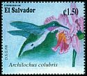 Cl: Ruby-throated Hummingbird (Archilochus colubris) SG 2416 (1998) 80