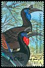 Cl: Abyssinian Ground-Hornbill (Bucorvus abyssinicus) SG 407 (1998) 130