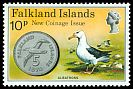 Cl: Black-browed Albatross (Thalassarche melanophris)(Repeat for this country)  SG 319 (1975) 250
