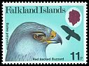 Cl: Red-backed Hawk (Buteo polyosoma)(Repeat for this country)  SG 385 (1980) 60