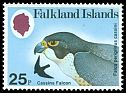 Falkland Is <<Cassins Falcon>> SG 387 (1980) ss: cassini