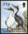 Cl: Imperial Shag (Phalacrocorax atriceps)(Repeat for this country)  SG 748 (1995) 300