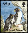 Cl: Rockhopper Penguin (Eudyptes chrysocome)(Repeat for this country)  SG 751 (1995) 300