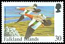 Cl: Ashy-headed Goose (Chloephaga poliocephala)(Repeat for this country)  SG 810 (1998) 225