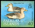 Cl: Speckled Teal (Anas flavirostris) <<Yellow-billed Teal>>  SG 852 (1999) 375