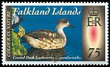 Cl: Crested Duck (Anas specularioides)(Repeat for this country)  SG 1275 (2013) 275 [9/23]