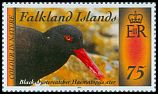 Cl: Blackish Oystercatcher (Haematopus ater)(Repeat for this country)  SG 1298 (2014) 300 [9/2]