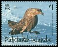 Cl: Brown Skua (Stercorarius antarctica)(Repeat for this country)  SG 1322 (2015) 425 [10/3]